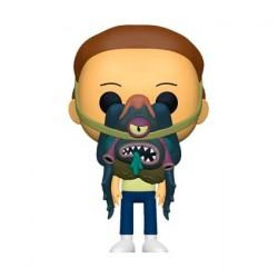 Figurine Pop! Rick et Morty - Morty avec Glorzo Funko Boutique en Ligne Suisse