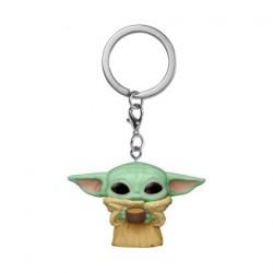 Figurine Pop! Pocket Porte-clés Star Wars The Mandalorian The Child avec Cup Funko Boutique en Ligne Suisse