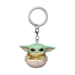 Figurine Pop! Pocket Porte-clés Star Wars The Mandalorian The Child dans in Hover Pram Funko Boutique en Ligne Suisse