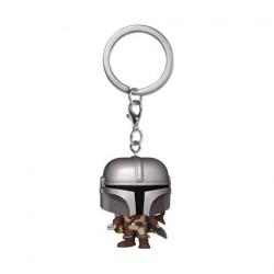 Figurine Pop! Pocket Porte-clés Star Wars The Mandalorian Funko Boutique en Ligne Suisse