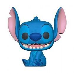 Figurine Pop! Disney Lilo & Stitch Stitch Sourit Funko Boutique en Ligne Suisse