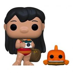 Figurine Pop! Disney Lilo & Stitch Lilo avec Pudge Funko Boutique en Ligne Suisse