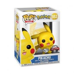 Figurine Pop! Diamond Pokemon Pikachu Waving Edition Limitée Funko Boutique en Ligne Suisse