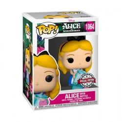 Figurine Pop! Disney Alice au Pays des Merveilles Alice avec Bouteille Edition Limitée Funko Boutique en Ligne Suisse