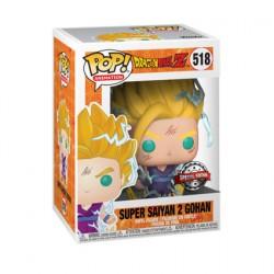 Figurine Pop! Dragon Ball Z Super Saiyan 2 Gohan Edition Limitée Funko Boutique en Ligne Suisse