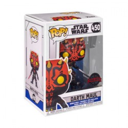Figurine Pop Star Wars The Clone Wars Darth Maul with Two Lightsabers Edition Limitée Funko Boutique en Ligne Suisse