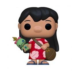 Figurine Pop! Disney Lilo & Stitch Lilo avec Scrump Funko Boutique en Ligne Suisse