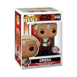 Figurine Pop! Star Wars The Bad Batch Omega Edition Limitée Funko Boutique en Ligne Suisse