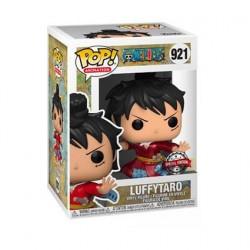 Figurine Pop! Métallique One Piece Luffy in Kimono Edition Limitée Funko Boutique en Ligne Suisse