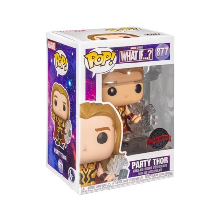 Figur Pop! Marvel What If…? Party Thor Limited Edition Funko Online Shop Switzerland