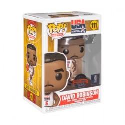 Figurine Pop! NBA Legends David Robinson 92 Team USA White Edition Limitée Funko Boutique en Ligne Suisse