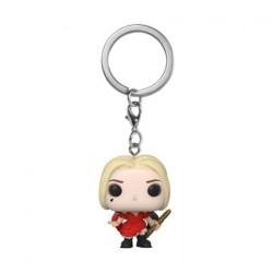 Figurine Pop! Pocket Porte-Clés The Suicide Squad Harley Quinn Damaged Dress Funko Boutique en Ligne Suisse