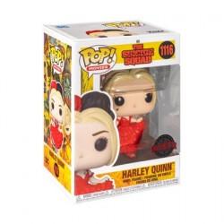 Figurine BOÎTE ENDOMMAGÉE Pop! The Suicide Squad Harley Quinn faisant la Révérence Edition Limitée Funko Boutique en Ligne Su...