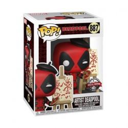 Figurine Pop! Marvel Deadpool Artist Edition Limitée Funko Boutique en Ligne Suisse