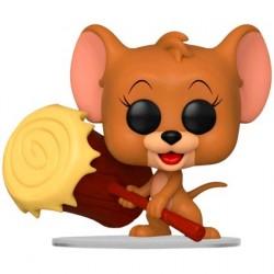 Figurine Pop! Tom et Jerry - Jerry avec Maillet Funko Boutique en Ligne Suisse