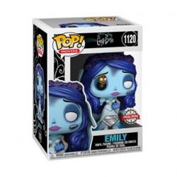 Figurine Pop! Diamond Les Noces Fenèbres Emily avec Asticot Edition Limitée Funko Boutique en Ligne Suisse
