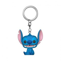 Figur Pop! Pocket Keychain Disney Lilo & Stitch Smiling Seated Stitch Funko Online Shop Switzerland
