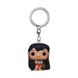 Figurine Pop! Pocket Porte Clés Disney Lilo & Stitch Lilo avec Camera Funko Boutique en Ligne Suisse