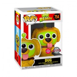 Figurine Pop! Floqué Pixar Alien Remix Dug Edition Limitée Funko Boutique en Ligne Suisse