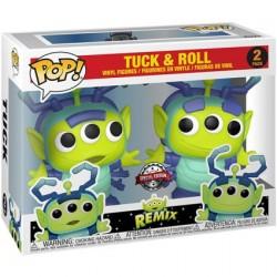 Figurine Pop! Pixar Alien Remix Tuck & Roll 2-Pack Edition Limitée Funko Boutique en Ligne Suisse