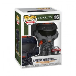 Figurine Pop! Halo Infinite Mark VII Black with Shock Rifle Edition Limitée Funko Boutique en Ligne Suisse