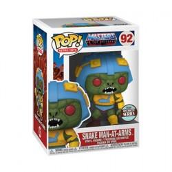 Figurine Pop! Les Maîtres de l'Univers Snake Man-At-Arms Edition Limitée Funko Boutique en Ligne Suisse