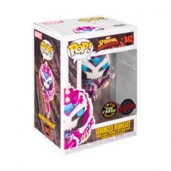 Figurine Pop! Phosphorescent Marvel Spider-Man Maximum Venom Venomized Ironheart Chase Edition Limitée Funko Boutique en Lign...