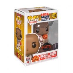 Figurine Pop! NBA Legends Michael Jordan 1992 Team USA White Edition Limitée Funko Boutique en Ligne Suisse