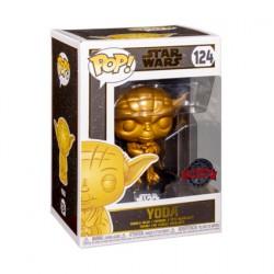 Figurine Pop! Métallique Star Wars Yoda Metallic Gold Edition Limitée Funko Boutique en Ligne Suisse