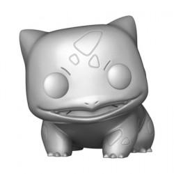 Figurine Pop! Métallique Pokemon Silver Bulbasaur 25ème Anniversaire Edition Limitée Funko Boutique en Ligne Suisse