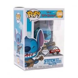 Figurine Pop! Diamond Lilo et Stitch Stitch avec Ukelele Edition Limitée Funko Boutique en Ligne Suisse