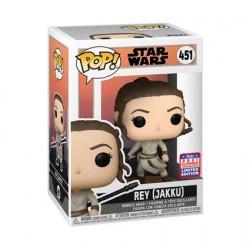 Figurine Pop! SDCC 2021 Star Wars Across the Galaxy Rey Jakku Edition Limitée Funko Boutique en Ligne Suisse