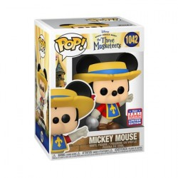 Figurine Pop! SDCC 2021 Mickey Mouse Mickey Musketeer Edition Limitée Funko Boutique en Ligne Suisse