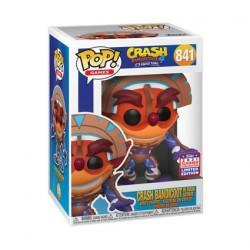 Figurine Pop! SDCC 2021 Crash Bandicoot Crash in Mask Armor Edition Limitée Funko Boutique en Ligne Suisse