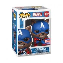 Figurine Pop! SDCC 2021 Captain America Capwolf Year of the Shield Edition Limitée Funko Boutique en Ligne Suisse