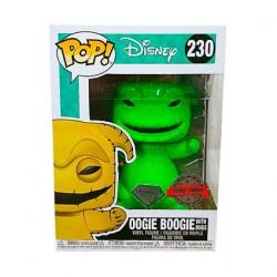 Figurine Pop! Diamond L'Étrange Noël de Mr Jack Oogie Boogie Vert Edition Limitée Funko Boutique en Ligne Suisse