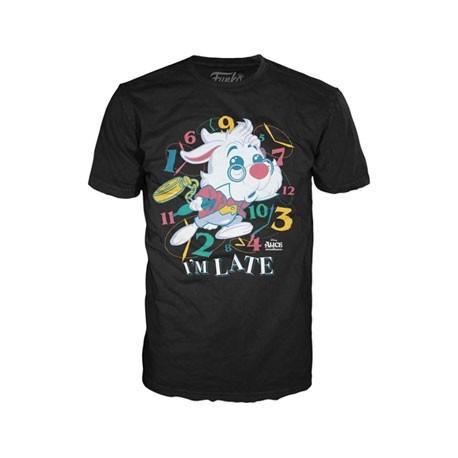 Figur T-shirt Alice in Wonderland White Rabbit Limited Edition Funko Online Shop Switzerland