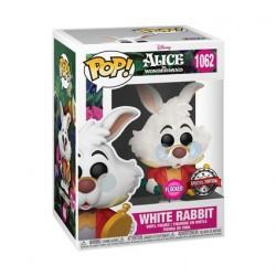 Figurine Pop! Floqué Alice au Pays des Merveilles Lapin Blanc Edition Limitée Funko Boutique en Ligne Suisse