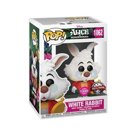 Figur Pop! Flocked Alice in Wonderland White Rabbit Limited Edition Funko Online Shop Switzerland