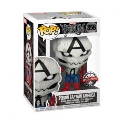 Figurine Pop! Marvel Venom Poison Captain America Edition Limitée Funko Boutique en Ligne Suisse