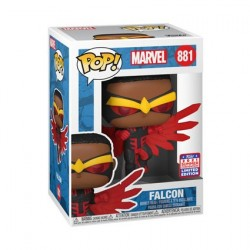 Figurine Pop! SDCC 2021 Marvel Comics Falcon Noir Edition Limitée Funko Boutique en Ligne Suisse