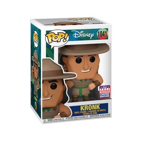 Figur Pop! SDCC 2021 The Emperor's New Groove Kronk Scout Limited Edition Funko Online Shop Switzerland