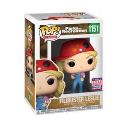 Figurine Pop! SDCC 2021 Parks and Recreation Leslie Filibuster Edition Limitée Funko Boutique en Ligne Suisse