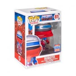 Figurine Pop! SDCC 2021 Les Maîtres de l'Univers Roboto Edition Limitée Funko Boutique en Ligne Suisse