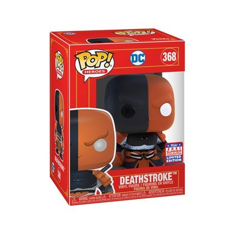 Figur Pop! SDCC 2021 DC Imperial Deathstroke Imperial Limited Edition Funko Online Shop Switzerland