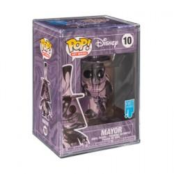 Figurine Pop! Artist Series Disney L´étrange Noël de Mr. Jack Mayor avec Boîte de Protection Acrylique Edition Limitée Funko ...