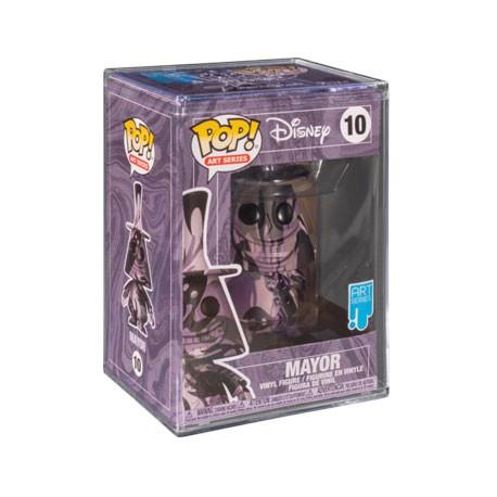 Figur Pop! Artist Series Disney Nightmare before Christmas Mayor in Hard Acrylic Protector Limited Edition Funko Online Shop ...