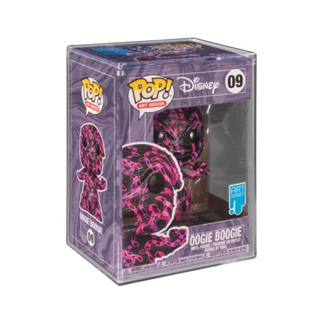 Figur Pop! Artist Series Disney Nightmare before Christmas Oogie in Hard Acrylic Protector Limited Edition Funko Online Shop ...