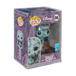 Pop! Artist Series Disney Nightmare before Christmas Sally in Hard Acrylic Protector Limited Edition