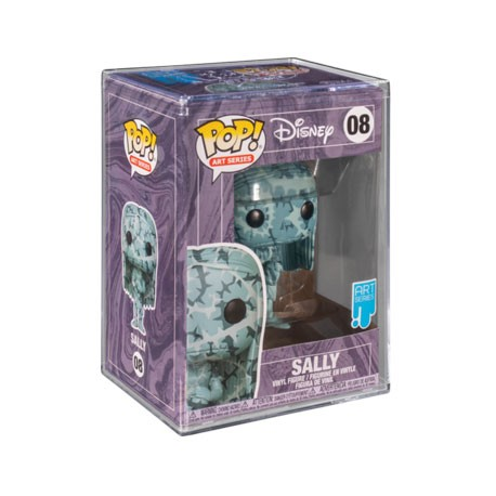 Figur Pop! Artist Series Disney Nightmare before Christmas Sally in Hard Acrylic Protector Limited Edition Funko Online Shop ...